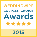 Wedding Wire Couples Choice Badge 2015