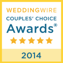 Wedding Wire Couples Choice Badge 2014